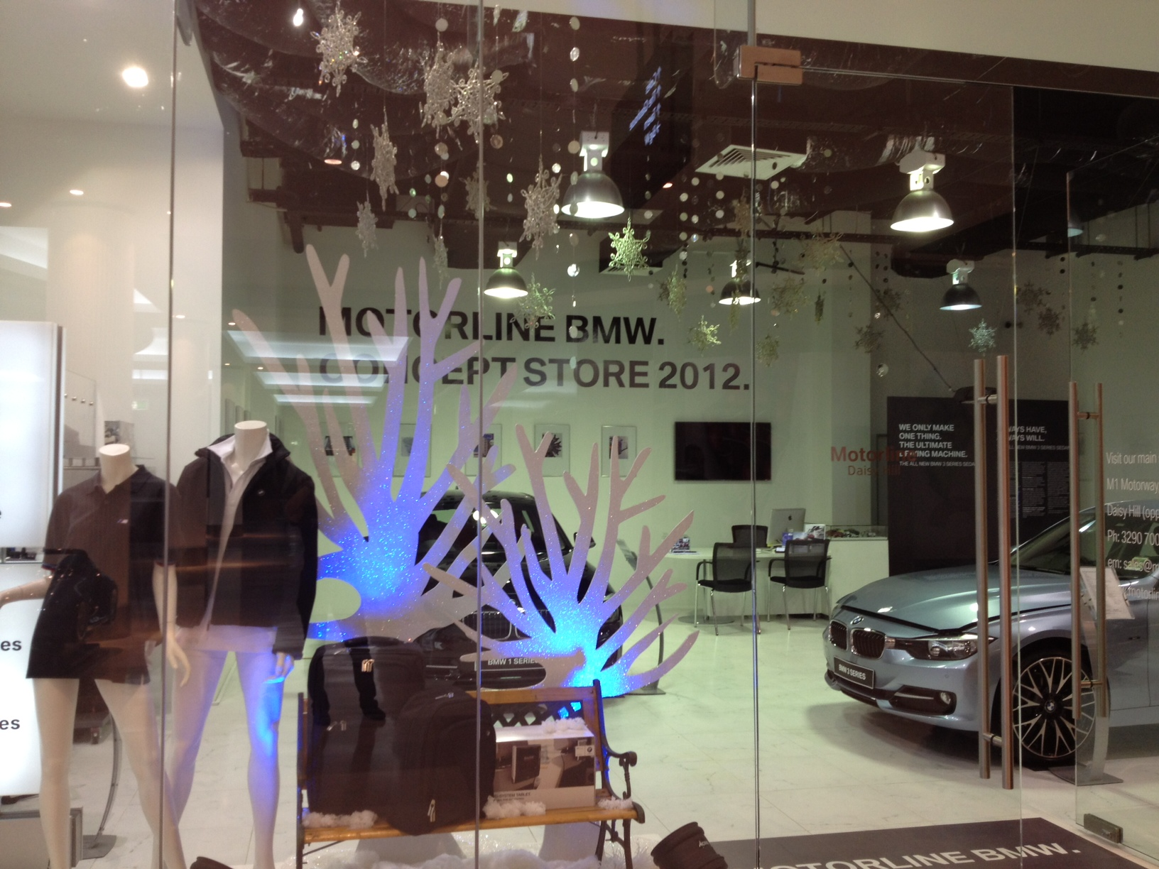 Winter Warmer visual merchandising by VM+ team, Brisbane