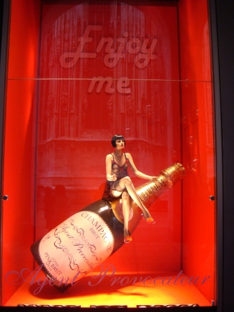 Pop the cork with Visual Merchandising
