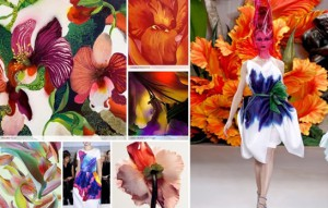 Floral fashion inspiration