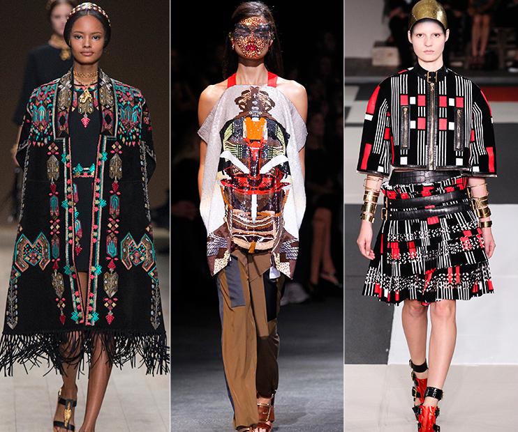 International GEO fashion catwalk models