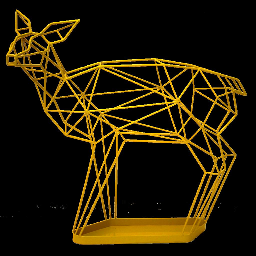Yellow Wire Deer