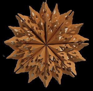 Cardboard Snowflake FSS0062