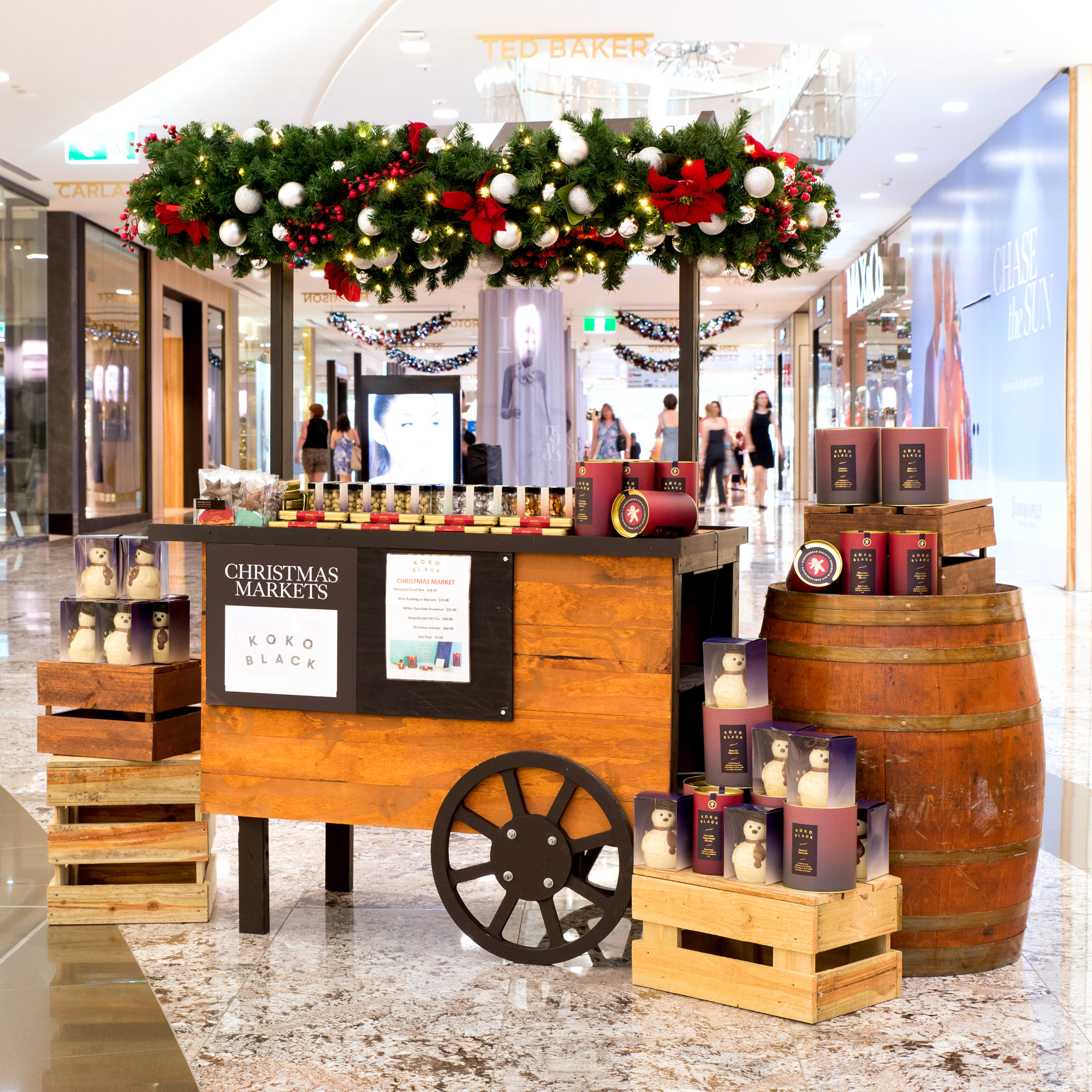 2015 Christmas Pop Up Markets Indooroopilly 030
