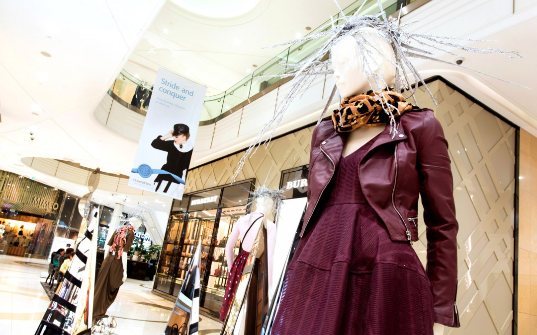 Autumn Winter Fashion Display at Queens Plaza