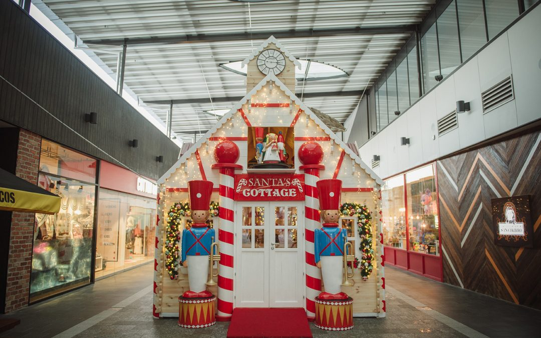 A Magical Cottage for Santa Claus