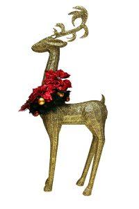 Gold Reindeer Low Res