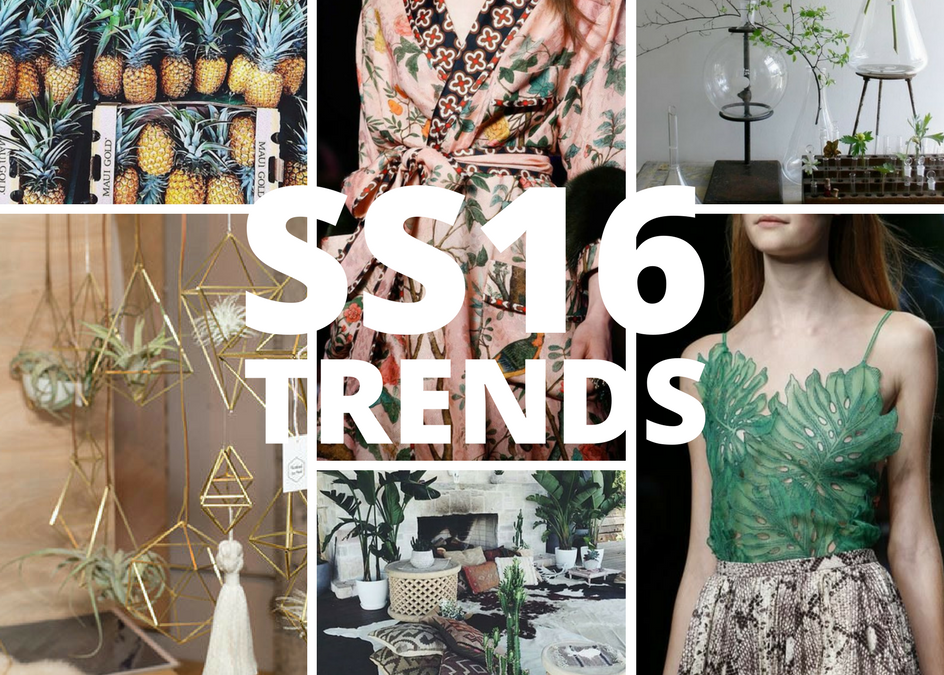 Trends to watch: Spring Summer 2016