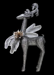 Silver Reindeer KLE0046
