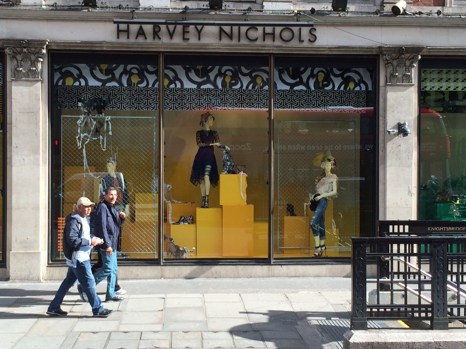 Harvey nichols always fabulous visual merchandising for Harvey windows