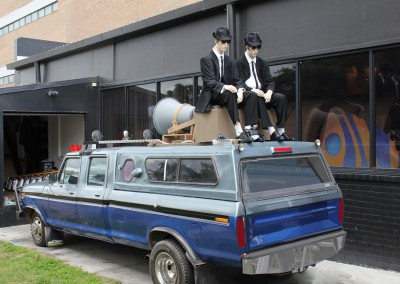 Blues Brothers custom build rally vehicle