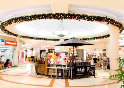 Chevron Renaissance retail centre display