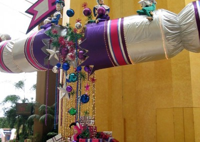 Christmas atrium display festive season at Gold Coast Casino