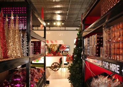 Christmas Retail Showroom