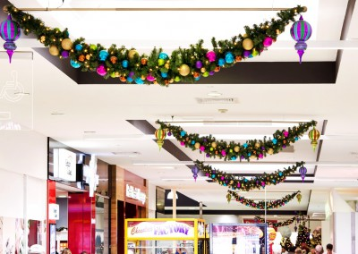Deception Bay Christmas brights swag garlands