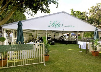 Leila product launch and promotion at Oaks Day