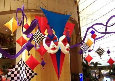Masquerade Mask and lycra sails
