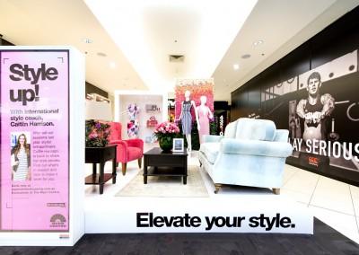 Myer Centre VM fashion styling boutique