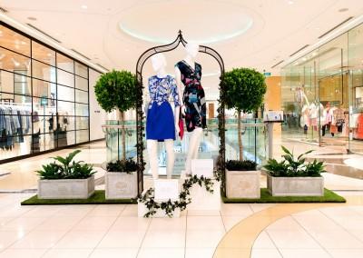 Queens Plaza VM spring fashion garden