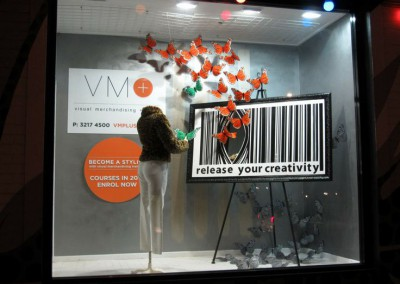 VM training releases creativity window display