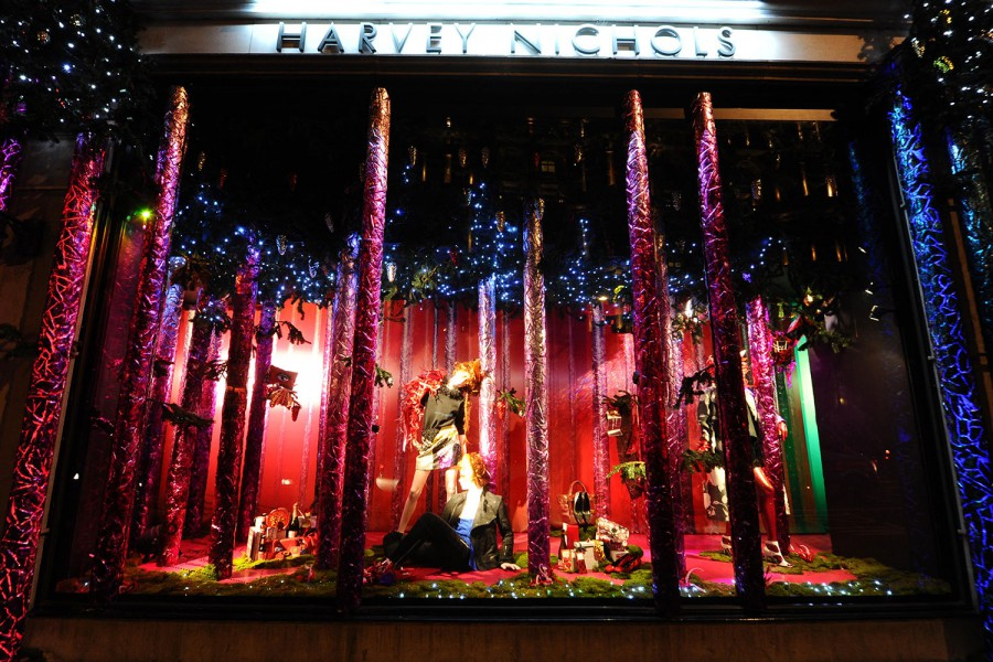 harveynichols Christmas Window 2014