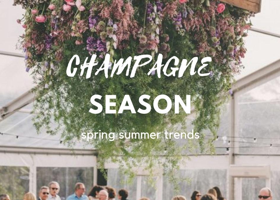 Champagne Season – S/S Trends