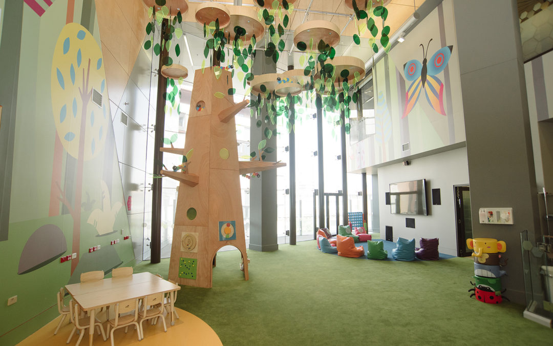 Queensland Children's Hospital Takes Flight