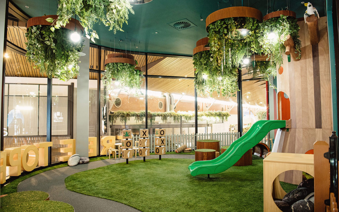 Tree Top Play – The new way for kids to enjoy shopping centres