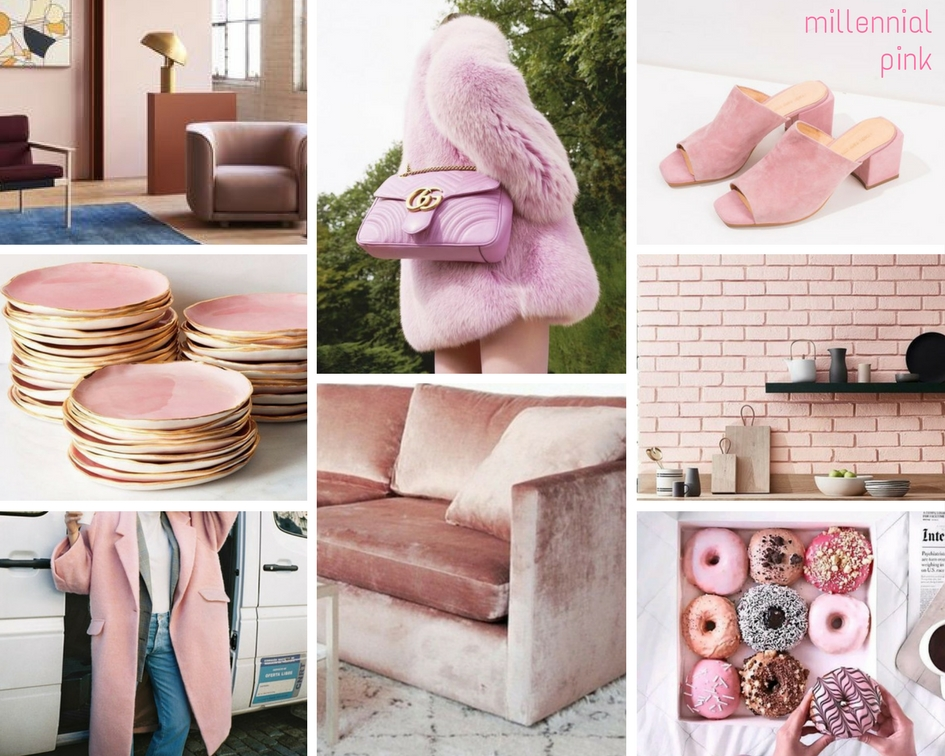 Autumn winter trends 2018 trends vm visual for Millenial pink gifts